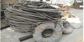 出售新都报废铝芯线缆约4吨