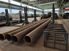 出售金堂约8吨库存钢管