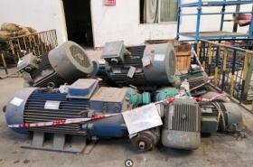 出售青白江报废电机约40吨